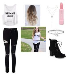 """""""Sabrina Carpenter inspired"""" by maya2005 ❤ liked on Polyvore featuring Miss Selfridge, Journee Collection, Forever 21, Charlotte Russe and Tommy Hilfiger"""