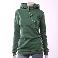 Fashion korea casual zip hoodies