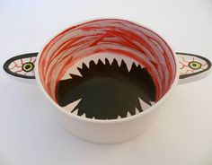 Halloween Candy Dish Chalkboard  Hand Painted by TheMagicArtShop, $15.99