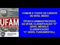 Apostila Concurso Público 2016 NÍVEL MÉDIO (UFAM)