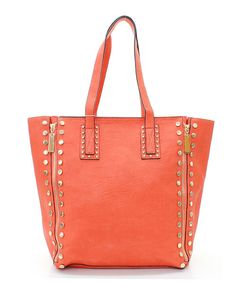Kate Satchel in Coral Spice