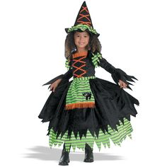 Storybook Witch Toddler Costume from CostumeExpress.com
