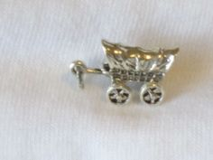 Charms, Western: Covered Wagon Sterling Silver Traditional Charm #Traditional