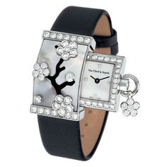 Pre-Owned Van Cleef & Arpels Secret Miroir des Eaux Van Cleef Arpels, Van Cleef And Arpels Jewelry, High Jewelry, Luxury Jewelry, Breitling, Beautiful Watches, Luxury Watches, Fashion Watches, Watches For Men