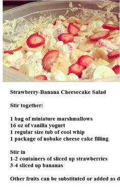 recipe: cheesecake salad delight [12]