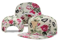 HATER Snapbacks Hats Plants and flowers 094