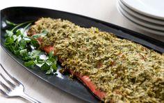 whole foods salmon with parsley horseradish crust #Dairy Free, #Gluten Free, #Wheat Free