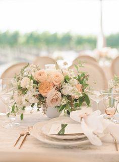 Featured Photographer: Sylvie Gil Photography; Wedding centerpieces ideas.