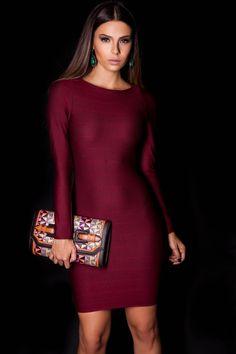Vestido Badagem e Carteira Ráfia  #lançamentogaia #gaia #linhafesta #inverno15 #bandagem #vestidobandagem #carteirarafia #dresstoimpress #fashion #ootn #modamineira #lavibh