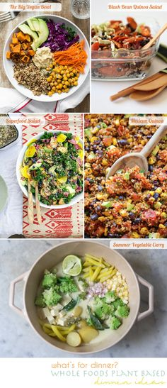 plant based recipes. Courtesy of going home to roost.