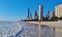 Gold Coast, Queensland, Australia - Get tips on how to visit Australia on a 2 week vacation: http://www.ytravelblog.com/how-to-visit-australia-on-a-two-week-vacation/