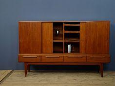 Beautiful Scandinavian furniture. Scandinavian Furniture, Mid Century Furniture, Credenza, Retro Vintage, Cabinet, Storage, Beautiful, Home Decor, Clothes Stand