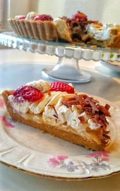 Banoffepaj - ZEINAS KITCHEN Banoffee Pie, Fruit Fool, English Trifle, Syllabub, Treacle Tart, Figgy Pudding, Boston Cream Pie, Bread And Butter Pudding, Sticky Toffee Pudding
