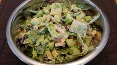 Southwest Chopped Chicken Salad...OMG, finally a taco salad that's healthy!