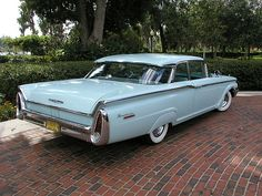 1960 - Mercury Monterey Maintenance/restoration of old/vintage vehicles: the material for new cogs/casters/gears/pads could be cast polyamide which I (Cast polyamide) can produce. My contact: tatjana.alic@windowslive.com