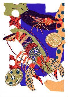 Seafood - Risoprint y Nick Liefhebber
