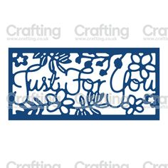 Tattered Lace Dies - Just For You Panel Inset