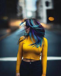 Stunning Female Portrait Photography by Kai Böttcher Artistic Photography, Photography Women, Digital Photography, Street Photography, Portrait Photography, Hair Photography, Urban Photography, Kai, Portrait Poses