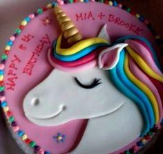 UNICORN cake topper edible personalised decoration set rainbow fondant horn name Unicorn Head Cake, Unicorn Cake Topper, Unicorn Cakes, Unicorn Rainbow Cake, How To Make A Unicorn Cake, Custom Cake Toppers, Custom Cakes, Cupcake Toppers, Foundant
