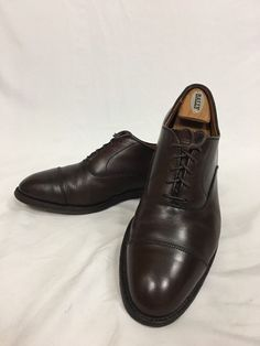 e20c74a56af Alden New England Brown Leather Cap Toe Oxford Dress Shoes Sz 10 B D Price