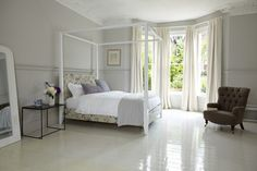 Bedroom, White Four Posted Bed Design Idea Impress Your Bedroom Style Bed Frame Design. Bedding Sets Design Idea. White Four Poster Bed Design. Bedroom