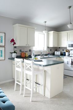 1000 images about glidden paint on pinterest smooth With kitchen colors with white cabinets with silver reindeer candle holders