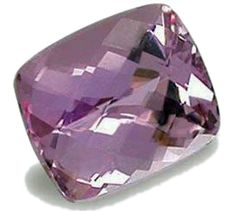 Kunzite...has a pronounced calming effect on the heart. Kunzite symbolizes straightforwardness. It helps people who suffer from inner turmoil to achieve a balance between reason and feelings.
