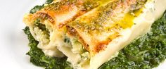 Spinach Cannelloni - Bethenny Frankel