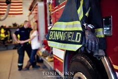 Engagement Pictures, Engagement Photos, Fireman Engagement Session | Toni Lynn Photography