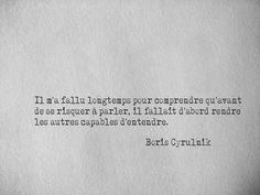 Un écrivain que je recommande chaudement... French Words, French Quotes, Pretty Words, Beautiful Words, Quotes To Live By, Me Quotes, Magic Quotes, Little Things Quotes, Kindness Quotes