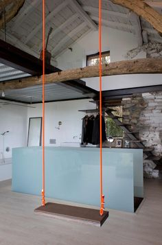 moderner Flur, Diele & Treppenhaus von Tagarro-De Miguel Arquitectos