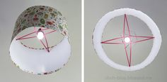 Ohoh Blog - diy and crafts: DIY Lampshade / Pantalla