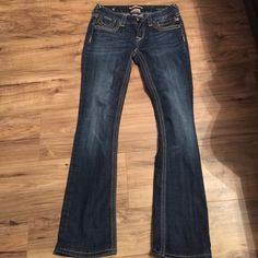Express rerock barely boot jeans size 2 regular Rerock jeans from express, barely boot Express/rerock Jeans Boot Cut