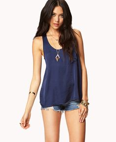 Essential Racerback Tank | FOREVER 21 - 2046668643 $10.80