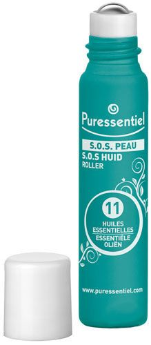 Roller S.O.S. Peau 11 Huiles Essentielles 5ml - Puressentiel - Doctipharma