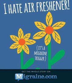 Migraines there is a difference between oils and scentsy and crap air freshener