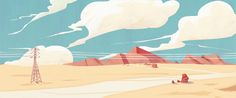 Trying to create style images for  personal animated short.