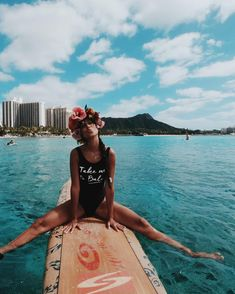 """6,365 mentions J'aime, 89 commentaires - Pris & Eve 🍌 (@welikebali) sur Instagram: """"Alohaing into the weekend like 🏄🏽♀️🌺 Sooo thankful looking back on our Hawaii & Tahiti trip! Back…"""""""
