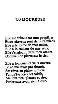 Paul Éluard - L'Amoureuse