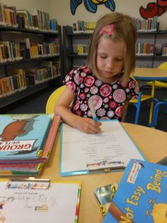Fun way to learn about our local library... including a free printable!