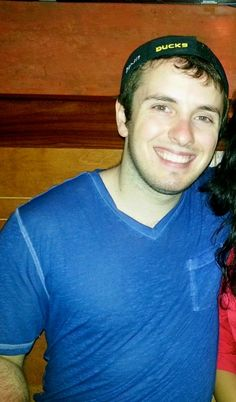 This weeks Campus Cutie, Sean Malone, loves his Illini girls in orange and blue!