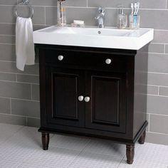 "Lanza 30"" Single Bathroom Vanity Set"