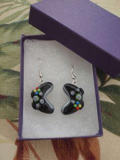 Black Xbox 360 Controller Earrings $8