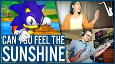 Sonic R: Can You Feel the Sunshine? - Jazz Cover || insaneintherainmusic...