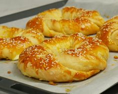 Cookbook Recipes, Cooking Recipes, Bread Dough Recipe, Around The World Food, Greek Sweets, Tasty Videos, Greek Cooking, Dessert Dishes, Greek Recipes