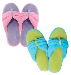 AVON - Product- Slipper Sandles- Great for summer, So cute- luv these, I have the pink & purple :)