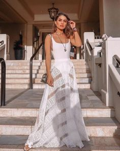 16 Best Beach Party Outfit Ideas for Women- Beach Style Look White Fashion, Love Fashion, Fashion Outfits, Fashion Beauty, Beach Party Outfits, Summer Outfits, Beach Outfits Women Vacation, Beach Attire, Mode Style