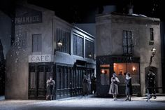 The Brassai-inspired sets by Isabella Bywater for Jonathan Miller's production of Pucinni's La bohème, set in 1930s Paris. Read my opera and culture blog in the Daily Telegraph: http://ow.ly/t81Ym