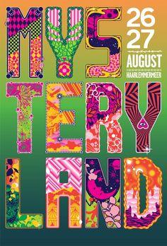 Mysteryland festival Haarlemmermeer pays bas