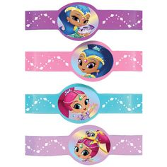 Shimmer And Shine Rubber Bracelets Birthday Party Supplies Favors Silicone Twin First Birthday, 3rd Birthday, Shimmer Y Shine, My Little Pony Dolls, Girl Birthday Decorations, 4th Birthday Parties, Childrens Party, Birthday Party Invitations, Holidays And Events
